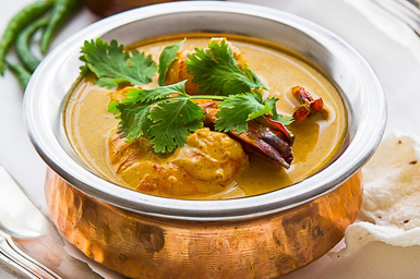 Seafood Curries
